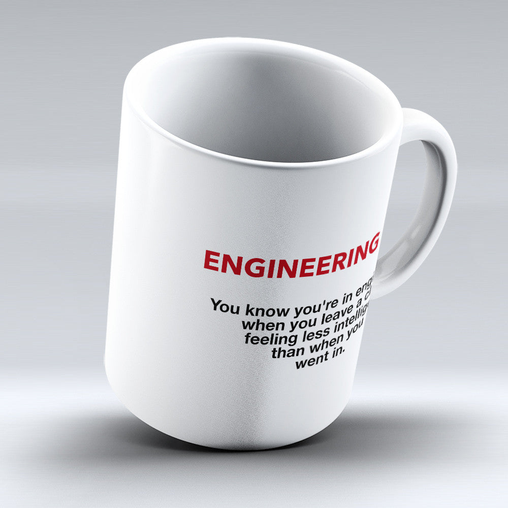 "Limited Edition - ""Engineer - Fact"" 11oz Mug - Engineer Mugs - Mugdom Coffee Mugs"