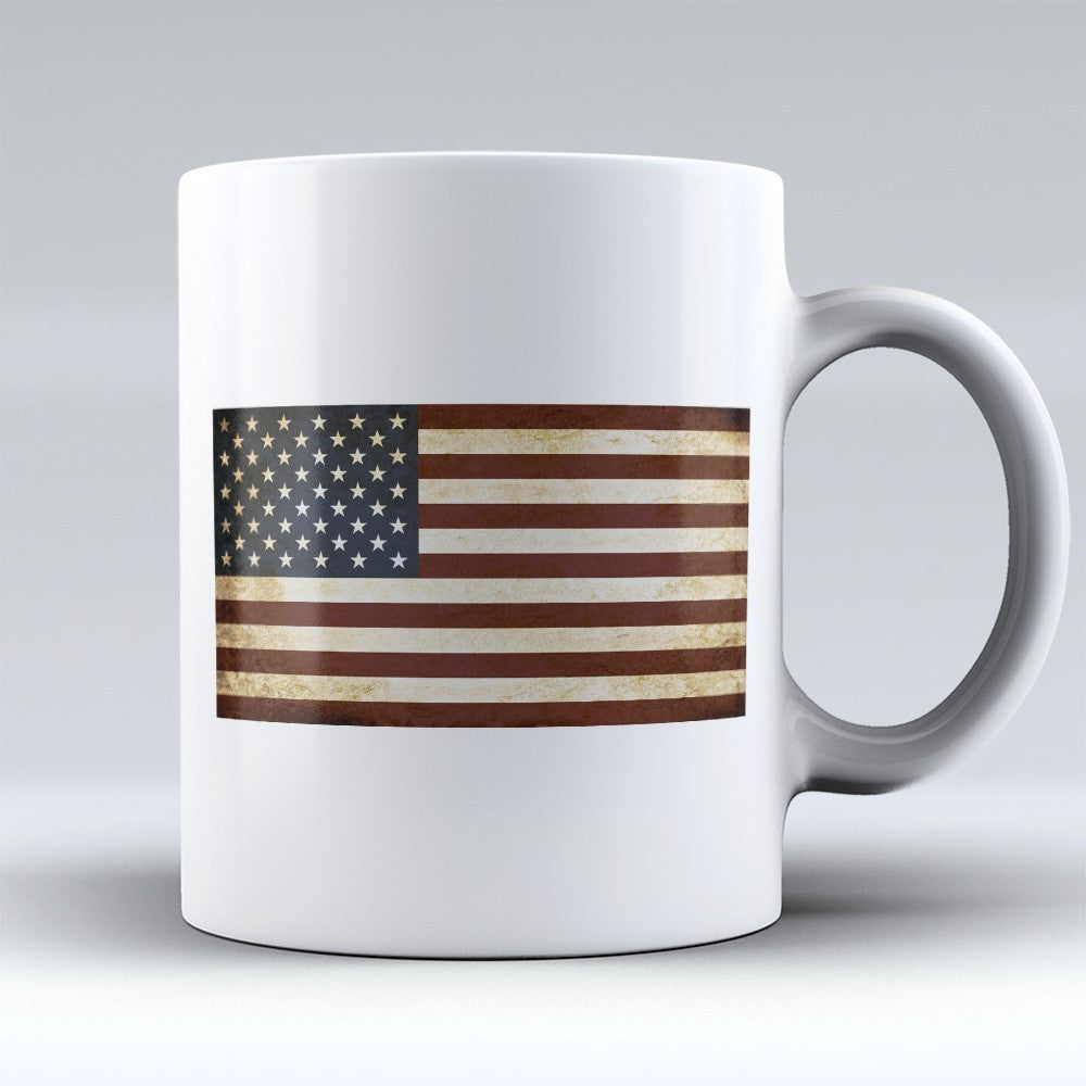 "Limited Edition - ""Flag"" 11oz Mug - Political Mugs - Mugdom Coffee Mugs"