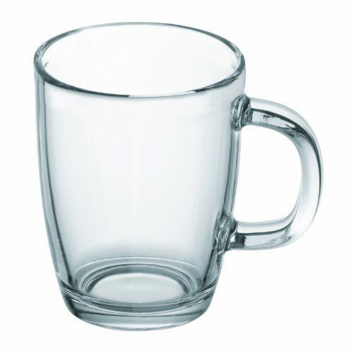 12oz Glass Coffee Mug - Glass Coffee Mug - Mugdom Coffee Mugs