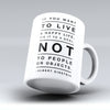 "Limited Edition - ""Tie It To A Goal"" 11oz Mug - Inspirational Quotes Mugs - Mugdom Coffee Mugs"