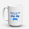 "Limited Edition - ""Set The Alarm"" 15oz Mug - Retirement Mugs - Mugdom Coffee Mugs"