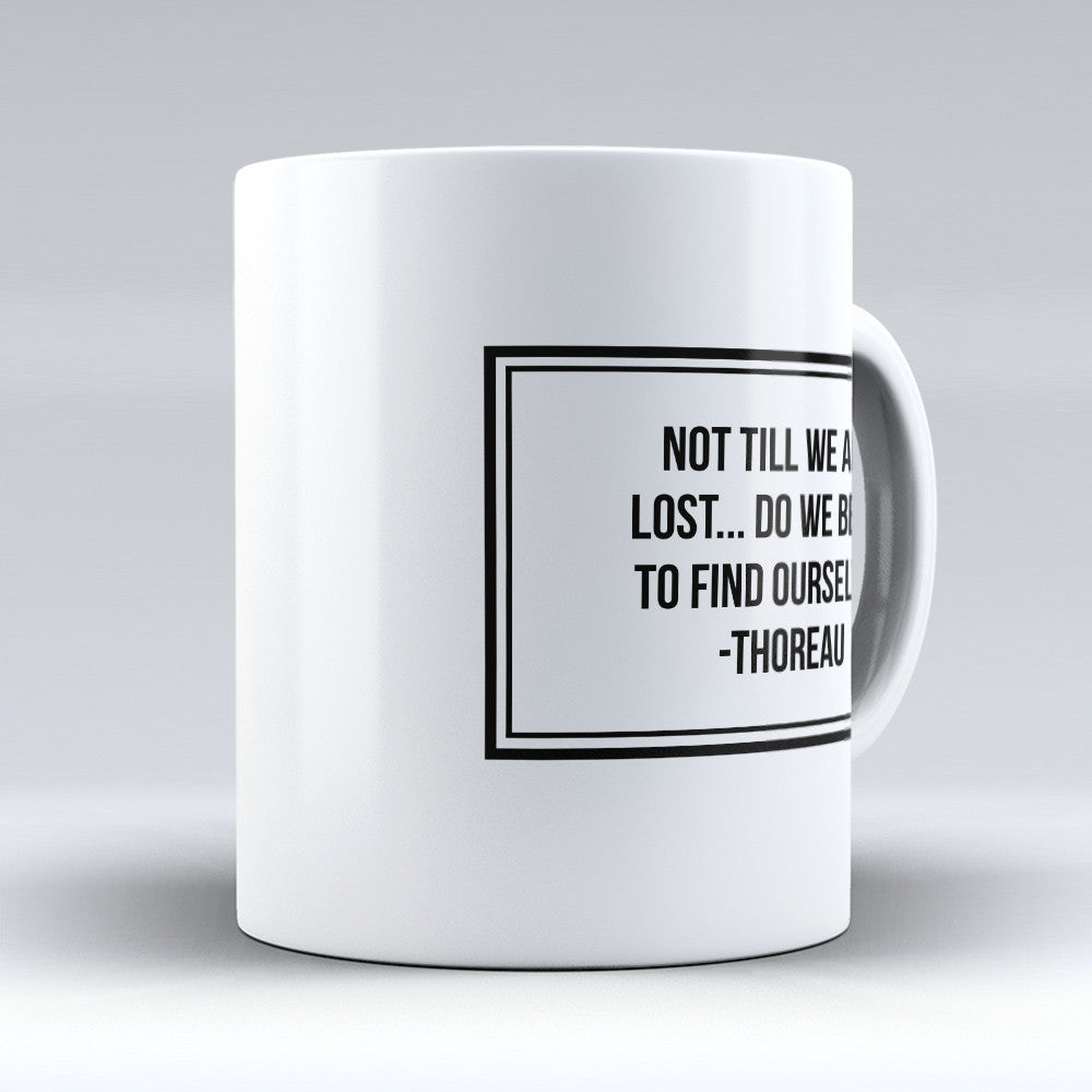 "Limited Edition - ""Find Ourselves"" 11oz Mug - Inspirational Quotes Mugs - Mugdom Coffee Mugs"