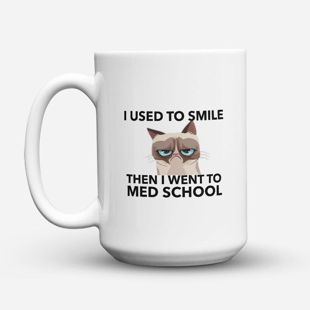 "Limited Edition - ""Med School"" 15oz Mug - Medical Mugs - Mugdom Coffee Mugs"