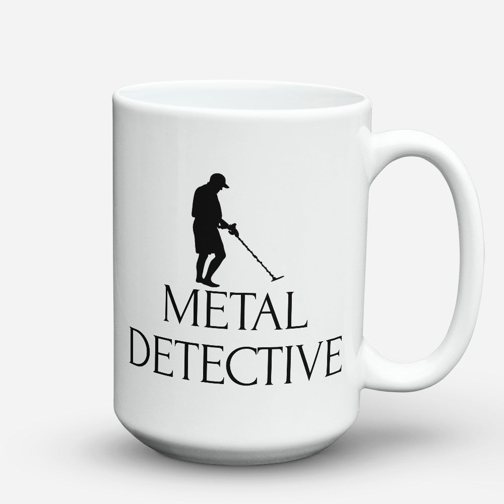 "Limited Edition - ""Metal Detective"" 15oz Mug"