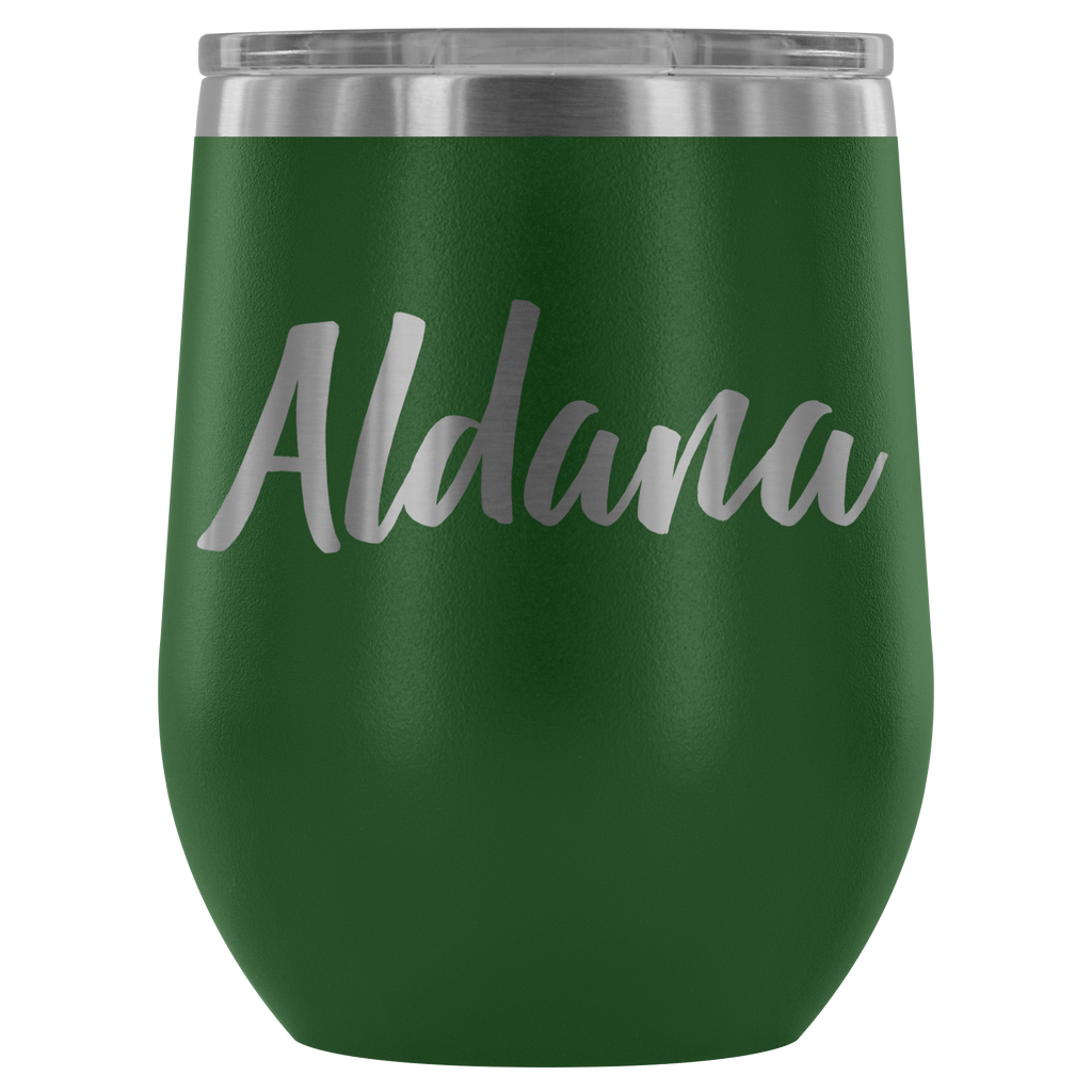 "Limited Edition - ""Aldana"" - 12oz Wine Tumbler"