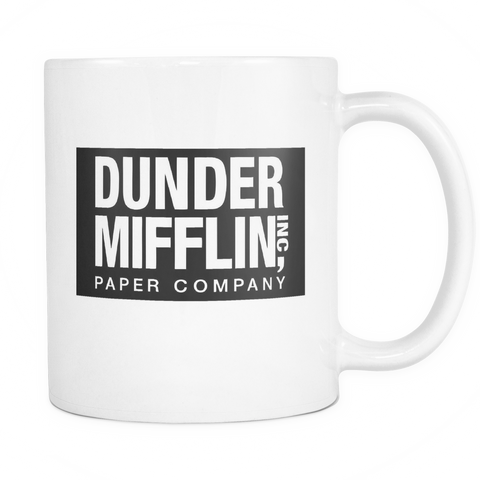 "Limited Edition - ""Dunder Mifflin (The Office)"" 11oz Mug - Funny Mugs - Mugdom Coffee Mugs"