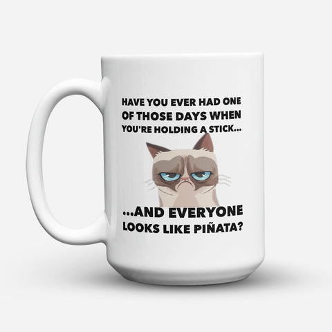 "Limited Edition - ""Looks Like Pinata"" 15oz Mug - Funny Mugs - Mugdom Coffee Mugs"