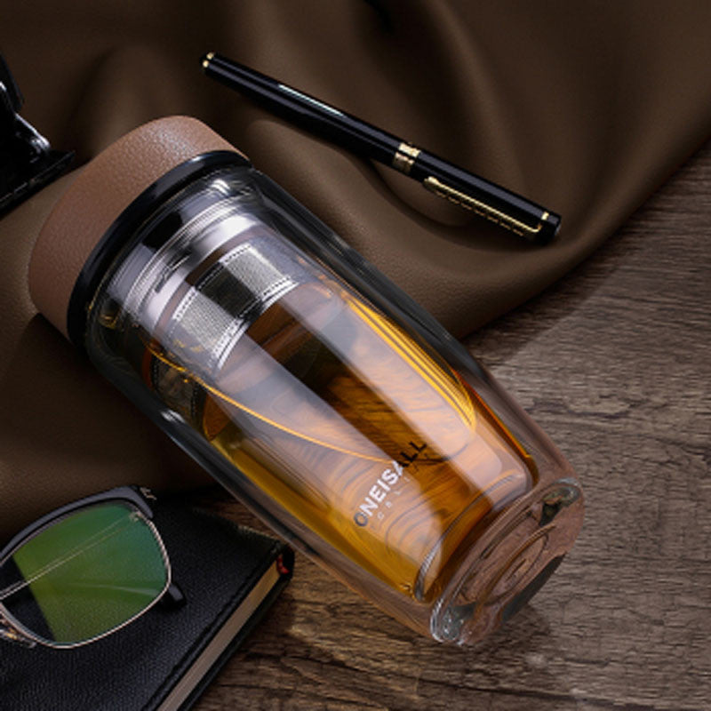 Business Class Tea & Coffee Strainer & Travel Mug - Thermos & Travel Mugs - Mugdom Coffee Mugs