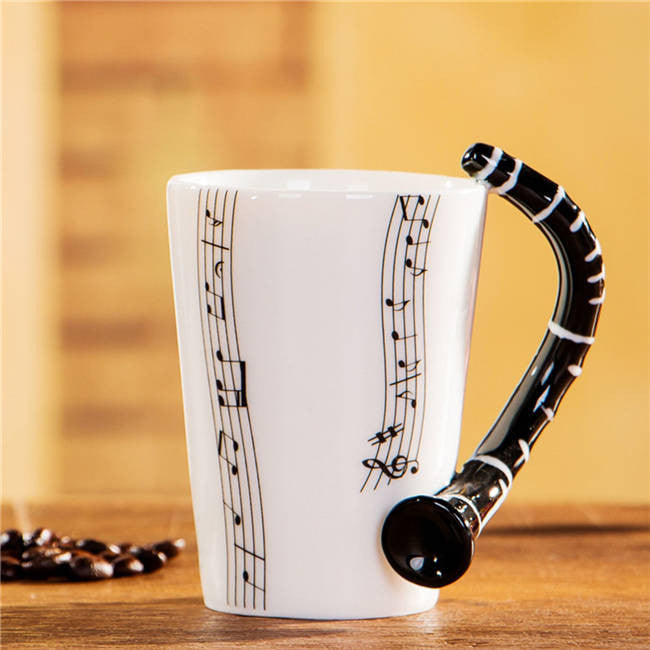 "Limited Edition ""Clarinet"" Premium Ceramic Mug - 8.4oz - Music Mugs - Mugdom Coffee Mugs"