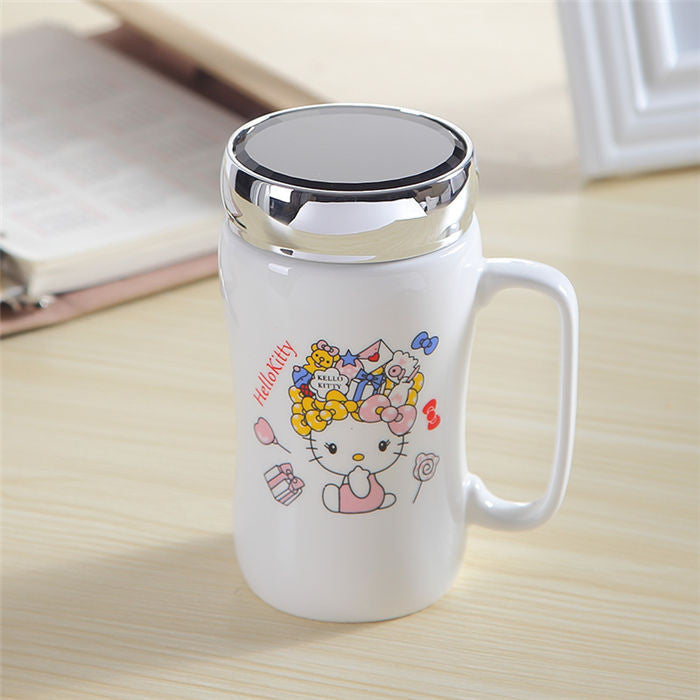 Limited Edition - Anime Characters Mug w/Lid - 15.2 oz