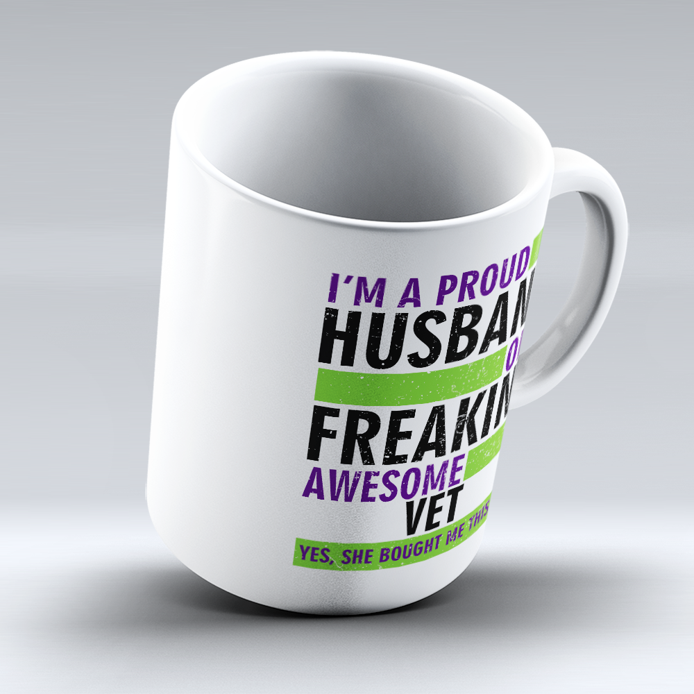 "Limited Edition - ""Proud Vet"" 11oz Mug"