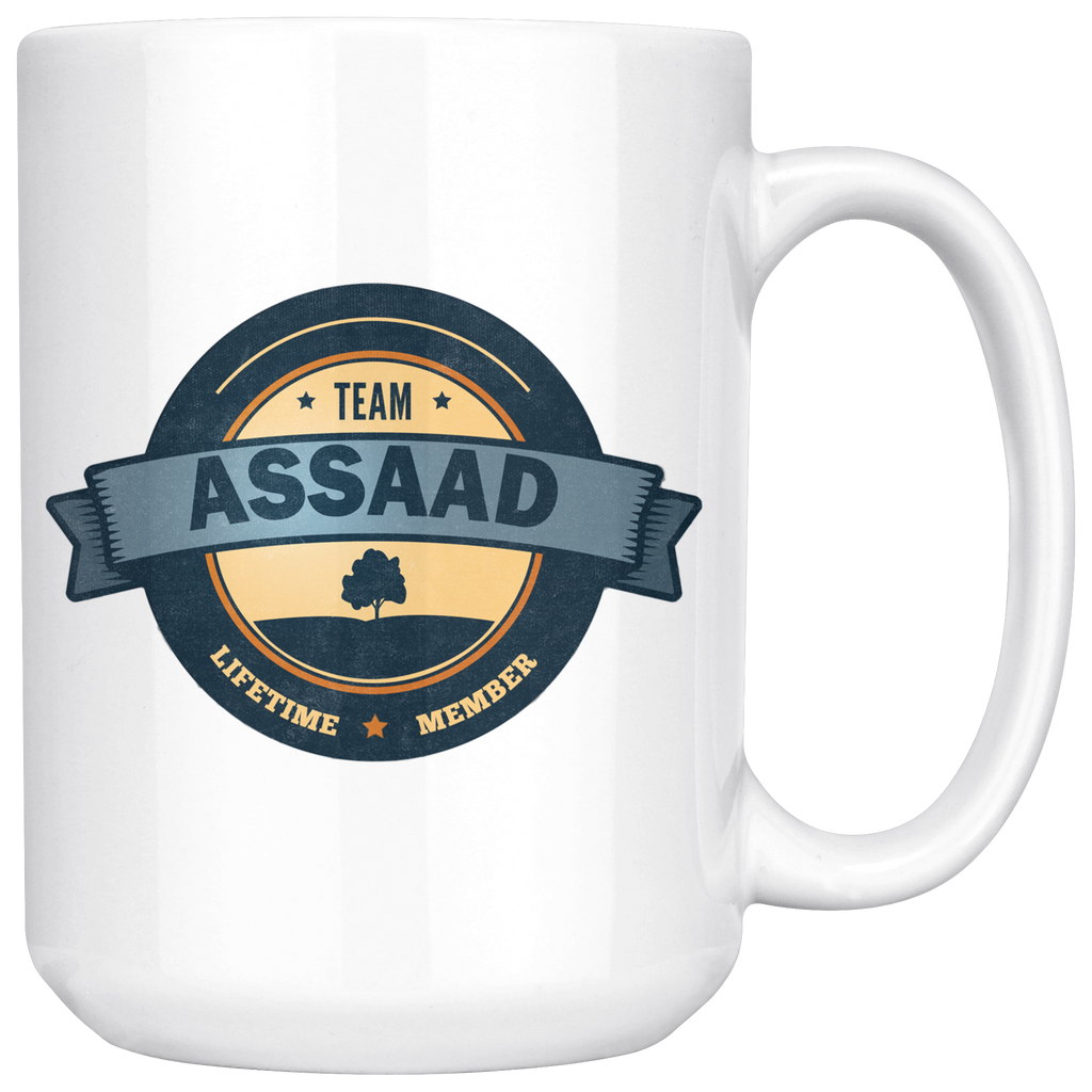 "Limited Edition - ""Team Assaad"" 15oz Mug"