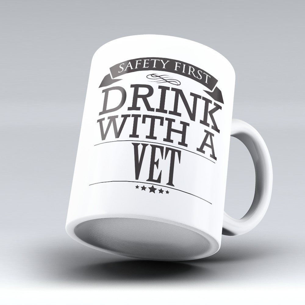 "Limited Edition - ""Safety First-Vet"" 11oz Mug"