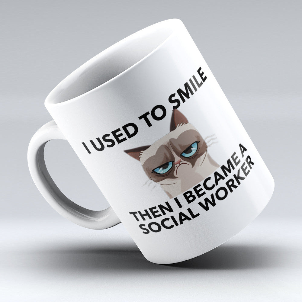 "Limited Edition - ""Then I Became A Social Worker"" 11oz Mug - Social Worker Mugs - Mugdom Coffee Mugs"