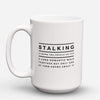 "Limited Edition - ""A Long Romantic Walk"" 15oz Mug - Funny Mugs - Mugdom Coffee Mugs"