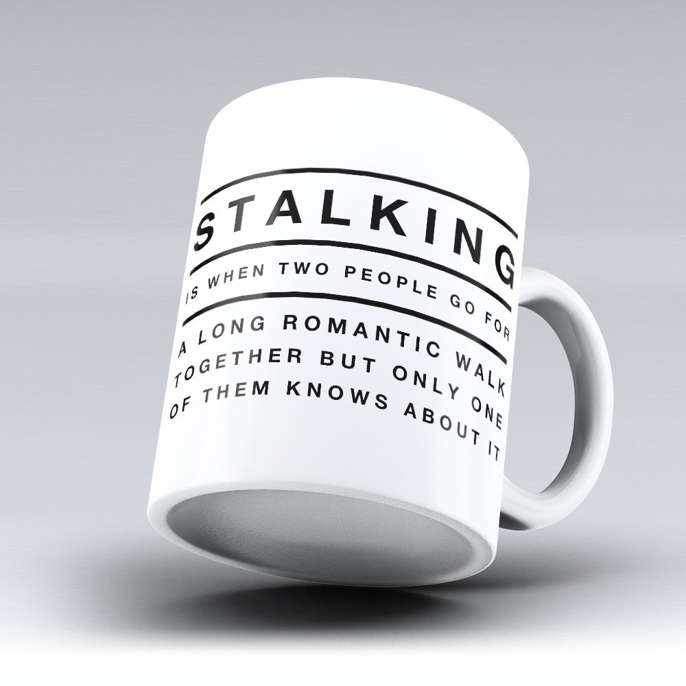 "Limited Edition - ""A Long Romantic Walk"" 11oz Mug - Funny Mugs - Mugdom Coffee Mugs"