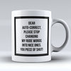 "Limited Edition - ""My Rude Words"" 11oz Mug - Funny Mugs - Mugdom Coffee Mugs"
