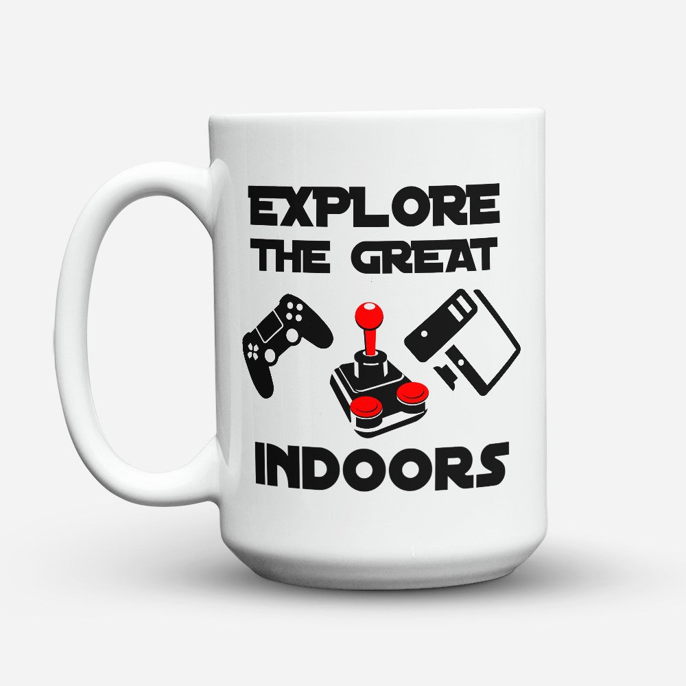 "Limited Edition - ""The Great Indoors"" 15oz Mug"