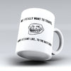 "Limited Edition - ""To The Backyard"" 11oz Mug"