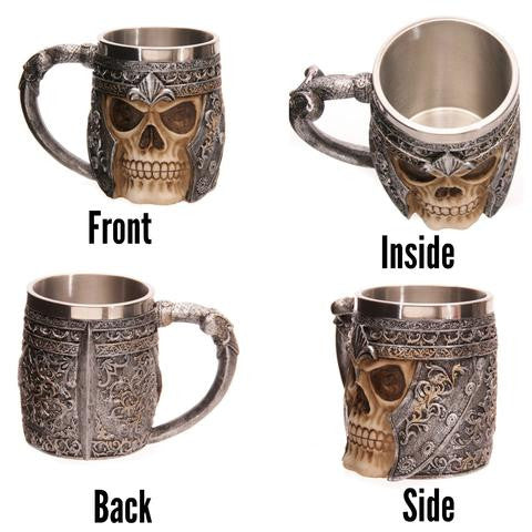 Resin & Stainless Steel Fantasy Tankards and Goblets