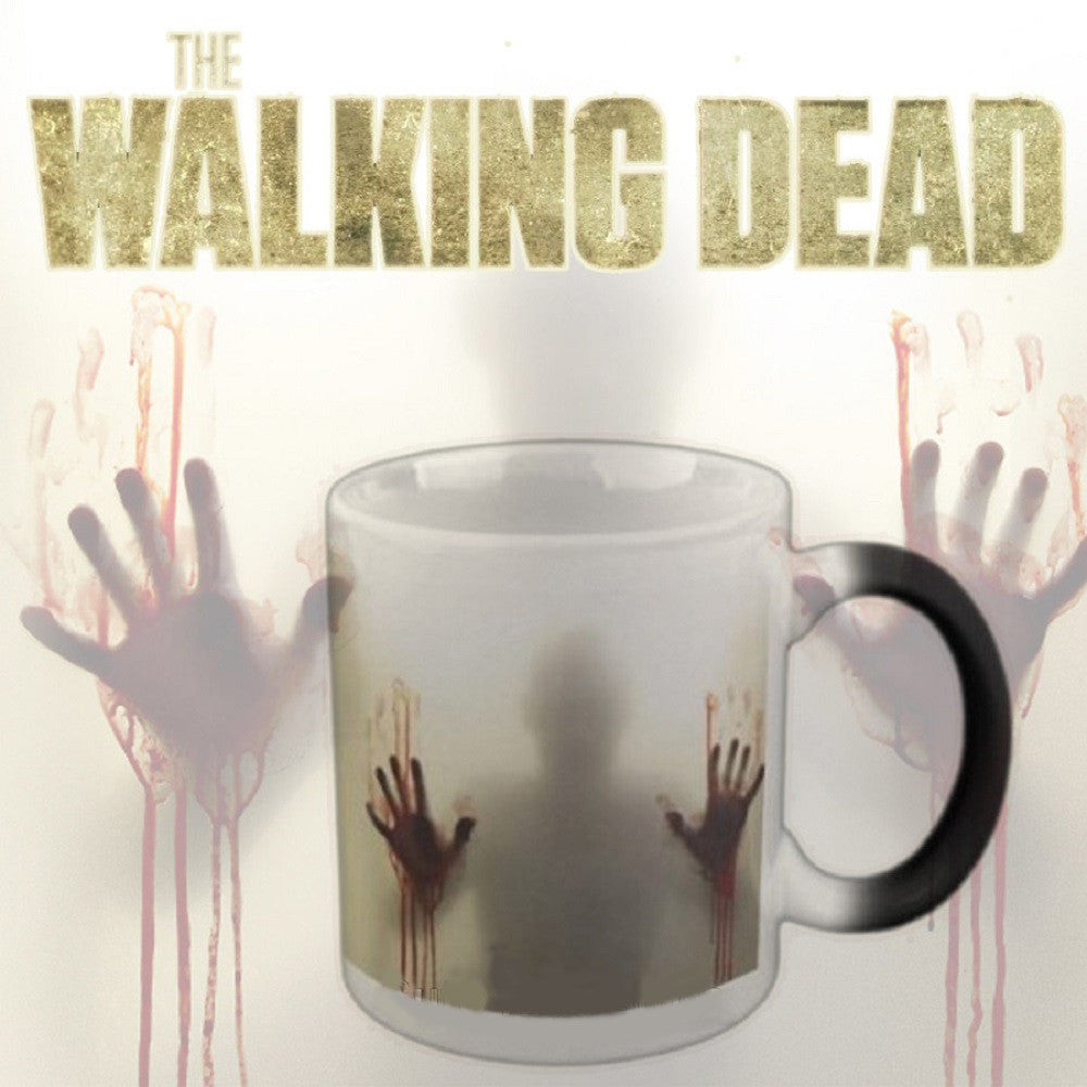 "Limited Edition - ""The Walking Dead"" Color Changing 11oz Mug - Novelty Mugs - Mugdom Coffee Mugs"