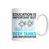 "Limited Edition - ""Reef Tanks Importanter"" 11 oz Mug - Mugdom Coffee Mugs"