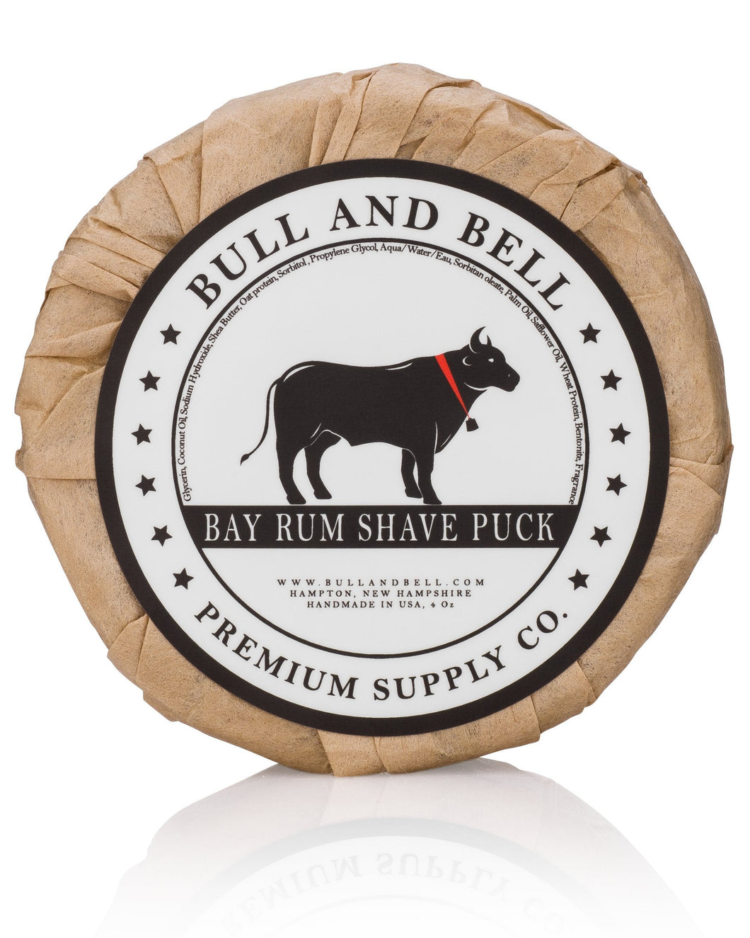 Bay Rum Vegan Shave Puck