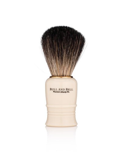 Bull and Bell White Starter Shave Brush