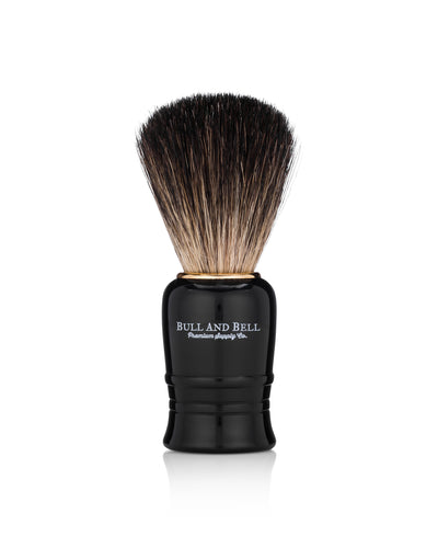 Bull and Bell Black Starter Shave Brush