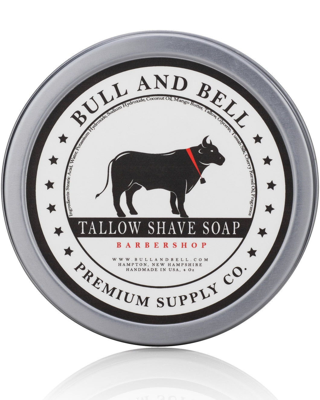 Barbershop Scented Tallow Shaving Soap