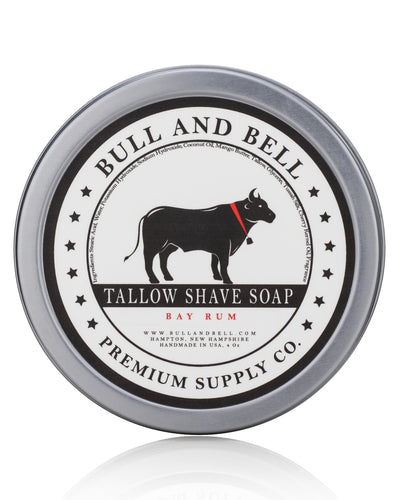 Bay Rum Tallow Shave Soap