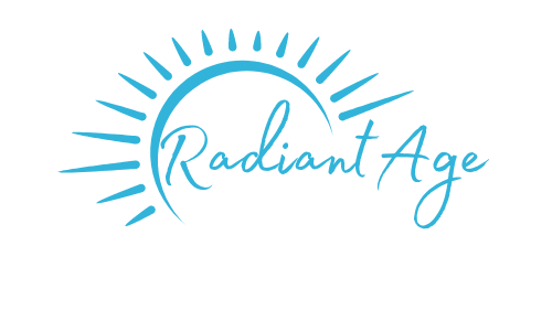 Radiant age is a blog on how to live our fullest lives yet through our 40s, 50s and 60s by embracing a clear mind, healthy body and new curiosity about life. The premise is drink less, eat mostly plants, keep moving and be curious.