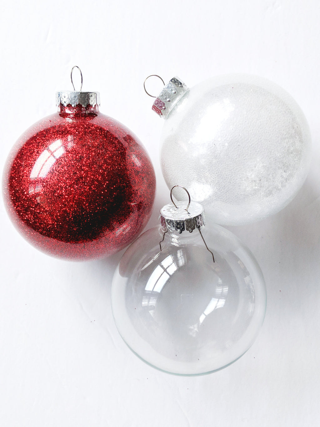 "3.1"" Customized Glass Ornament"
