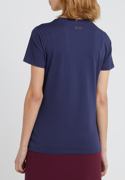 T-SHIRT 'TEDECENT BLUE' från Boss Casual hos MIKARA