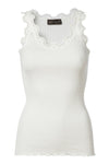 "Top ''Silktop regular"" (5205-NEW WHITE) från Rosemunde hos MIKARA"