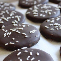 Yvonne's Thin Mint Cookies