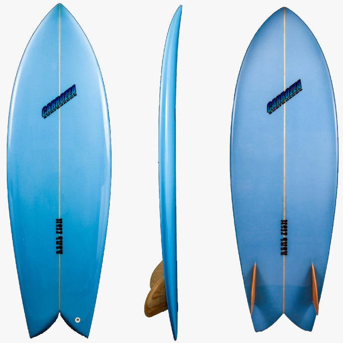 Carrozza Real Fish Surfboard