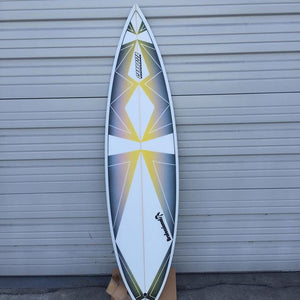 custom surfboard art work