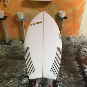 swallow tail groveler surfboard