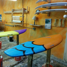quad fin groveler surfboard