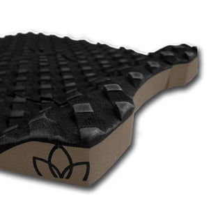 Stay Covered Fish 3 piece Black Traction Pad
