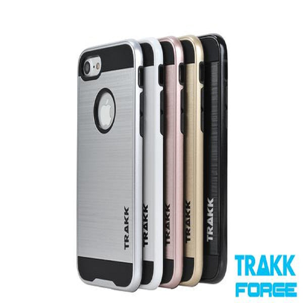 TRAKK FORCE Brushed Metal Protective Case for iPhone 7