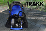 TRAKK VIGOR Water-Resistant Power Charging Travel Backpack