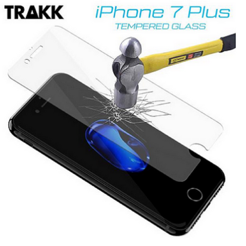 TRAKK SCREEN Rounded Edge Tempered Glass Screen Protector for iPhone 7 Plus