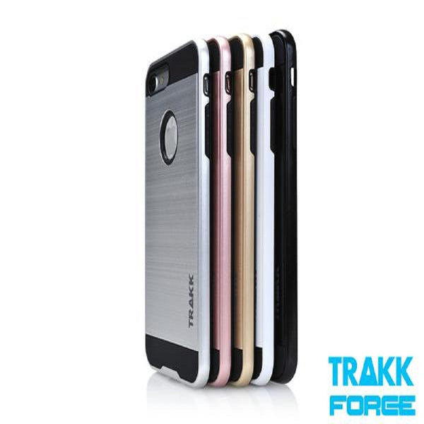 TRAKK FORCE Brushed Metal Protective Case for iPhone 7 Plus