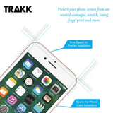 TRAKK SCREEN Rounded Edge Tempered Glass Screen Protector for iPhone 7