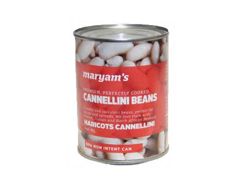 Cannellini Beans 540ml - Kikis Delivery