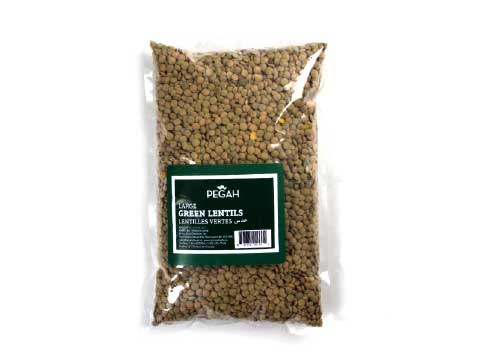 Green Lentils 2LB - Kikis Delivery