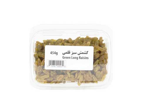 Green Long Raisins - Kikis Delivery