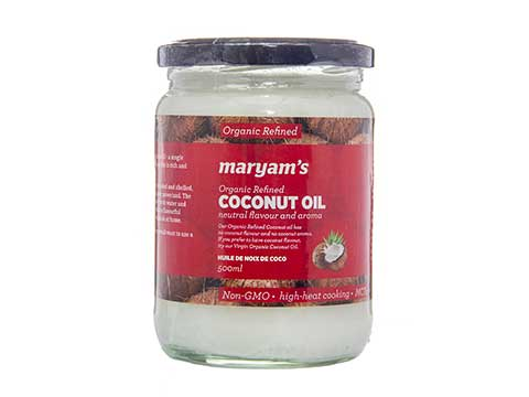 Organic Refined Coconut Oil - Kikis Delivery